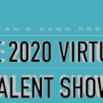 virtual talent show video cover slide
